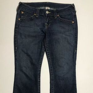 True Religion Women Size 31 Blue Jeans Bootcut